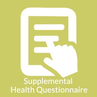 Supplemental Health Questionnaire Icon